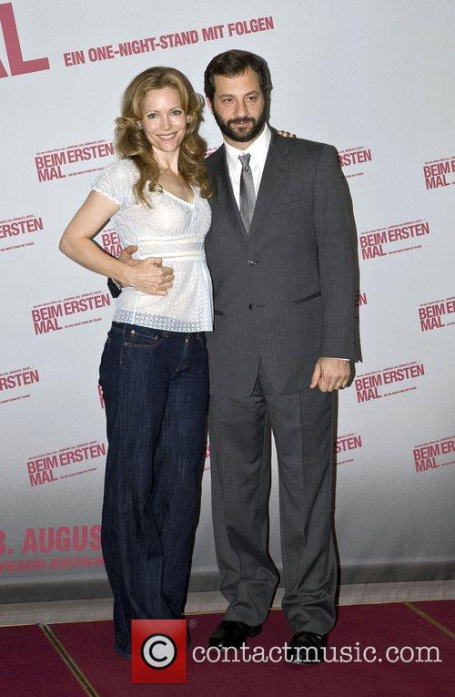 Leslie Mann and Judd Apatow Photocall for the...