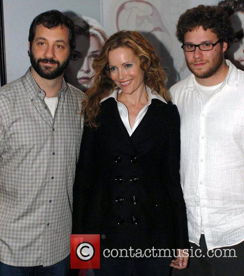 Judd Apatow, Leslie Mann and Seth Rogen Premiere...