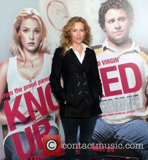Leslie Mann Premiere of 'Knocked Up' Dublin Ireland