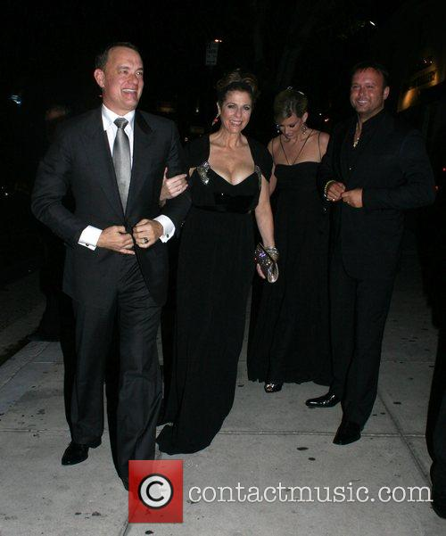Tom Hanks, Tim Mcgraw, Faith Hill and Koi Restaurant 5