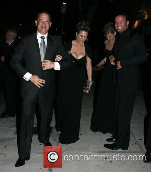 Tom Hanks, Tim Mcgraw, Faith Hill, Koi Restaurant