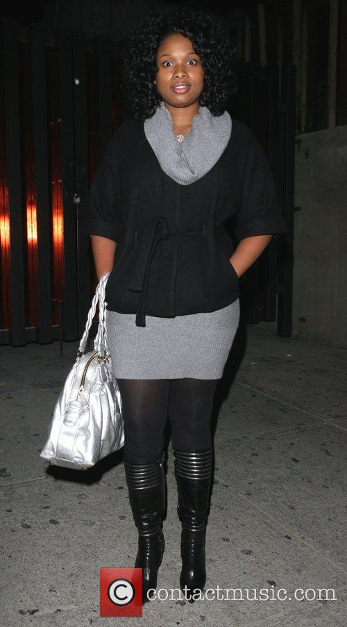 Jennifer Hudson leaving Koi Restaurant Los Angeles, California