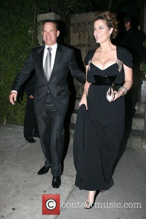 Tom Hanks, Tim Mcgraw, Faith Hill and Koi Restaurant 8