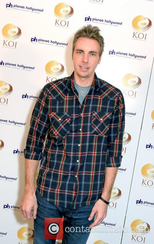 Dax Shepard KOI restaurant opening at Planet Hollywood...