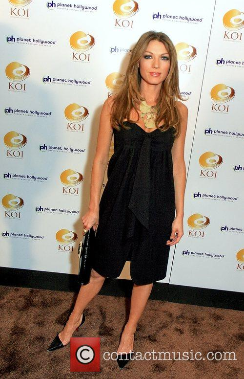 Natalie Zea KOI restaurant opening at Planet Hollywood...