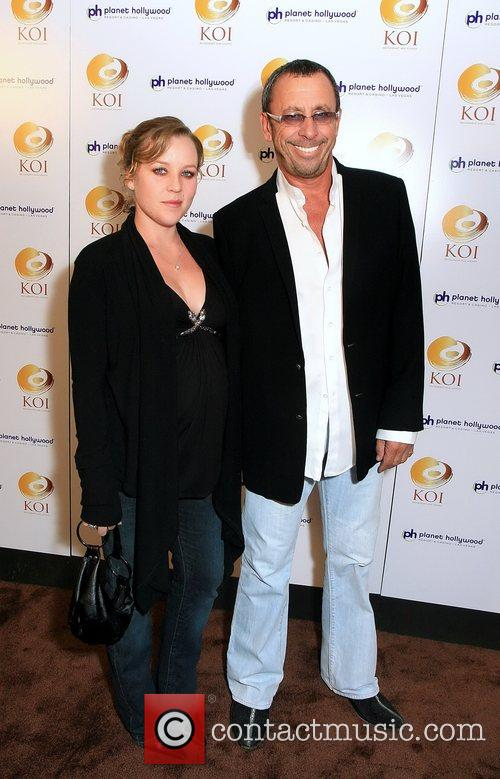 Schass Rebeckn and Victor Drai KOI restaurant opening...