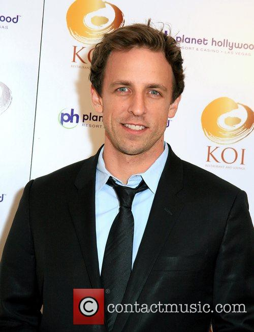 Seth Meyers KOI restaurant opening at Planet Hollywood...
