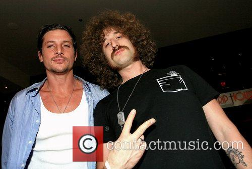 Simon Rex and Beardo 2