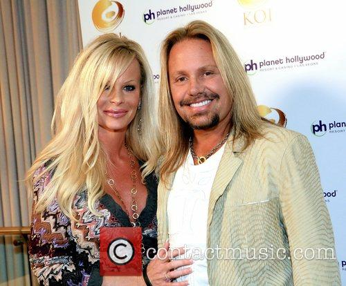 Vince Neil and His Wife Lia Gherardini 6