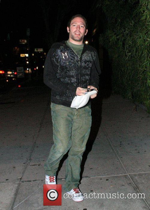 Dave Winthrop arriving at Koi Restaurant West Hollywood,...