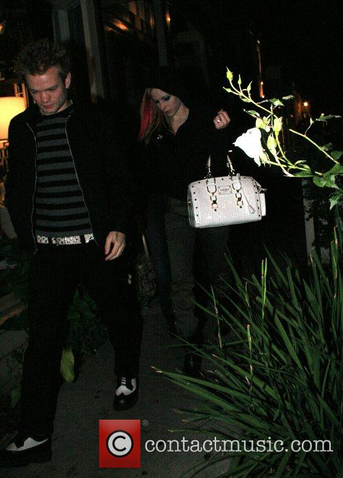 Deryck Whibley and Avril Lavigne 1