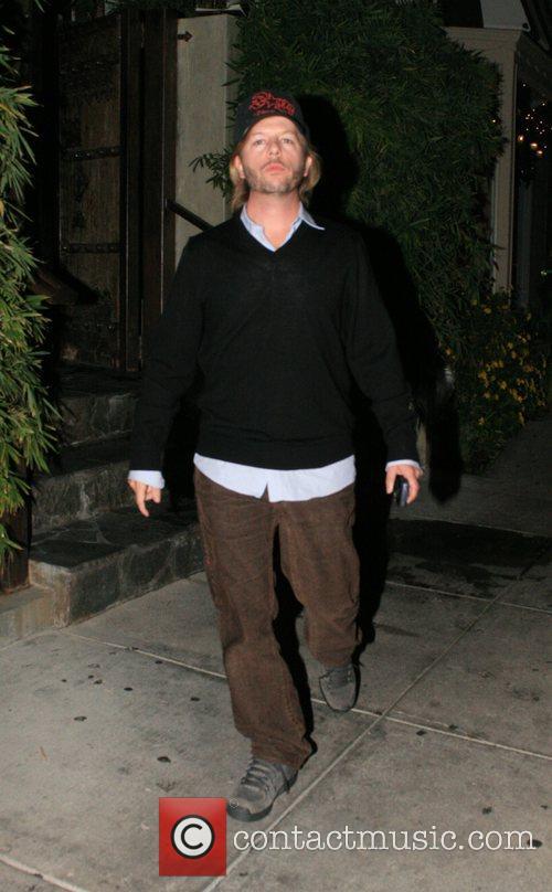 David Spade leaving Koi Restaurant in West Hollywood...
