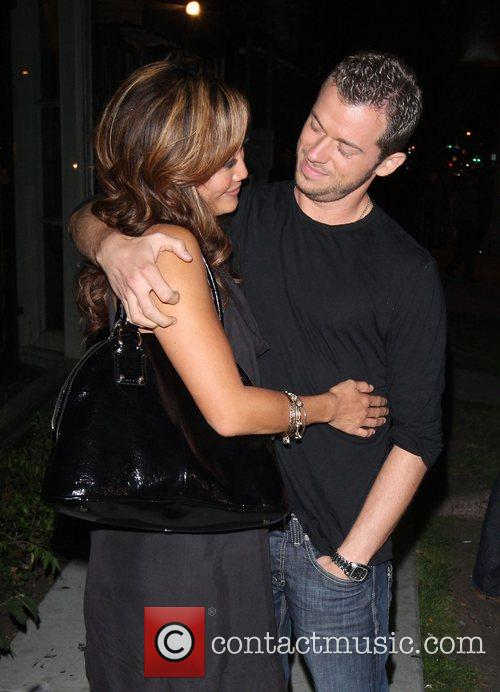 Carrie Ann Inaba and Artem Chigvintsev Leaving Koi...