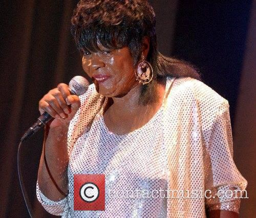 Koko Taylor performing live at the Blues Festival...
