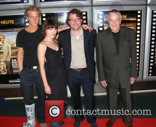Alexander Fehling, Barbara Wysocka, Robert Thalheimer and Ryszard...
