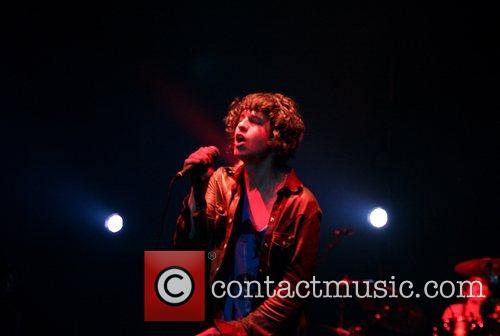 Luke Pritchard of The Kooks performing at Brixton...