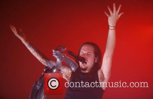 Korn performing live at Palladium Cologne, Germany