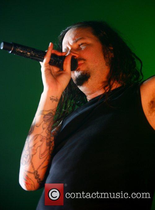 Korn performing live at Palladium
