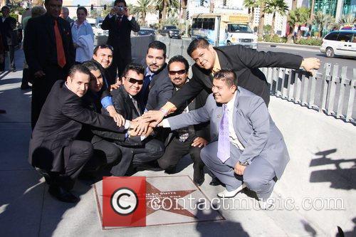 K-Paz De La Sierra honoured with a star...