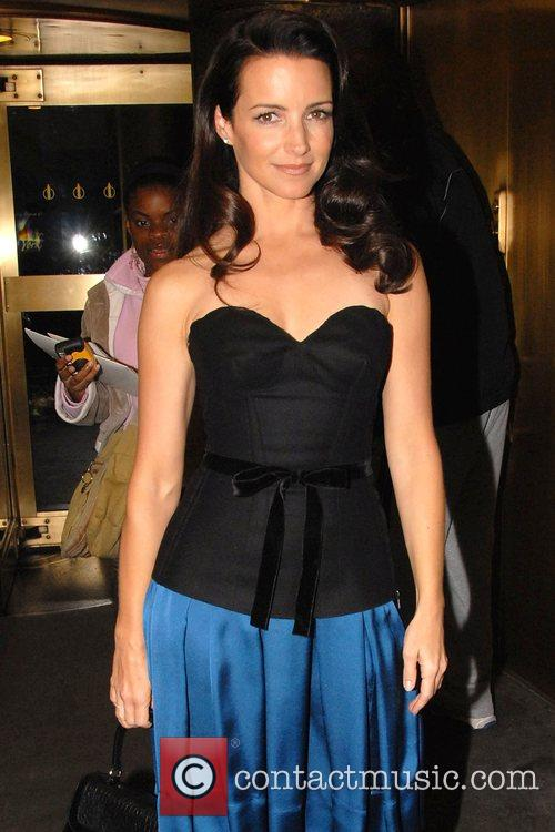 'Sex and the City' star Kristin Davis outside...