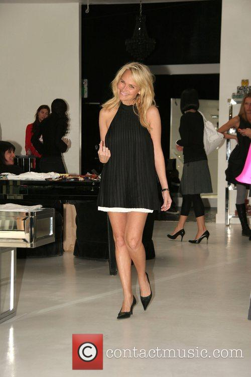 Kristin Chenoweth shopping at Alice + Olivia on...