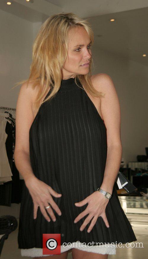 Kristin Chenoweth shopping at Alice + Olivia on...