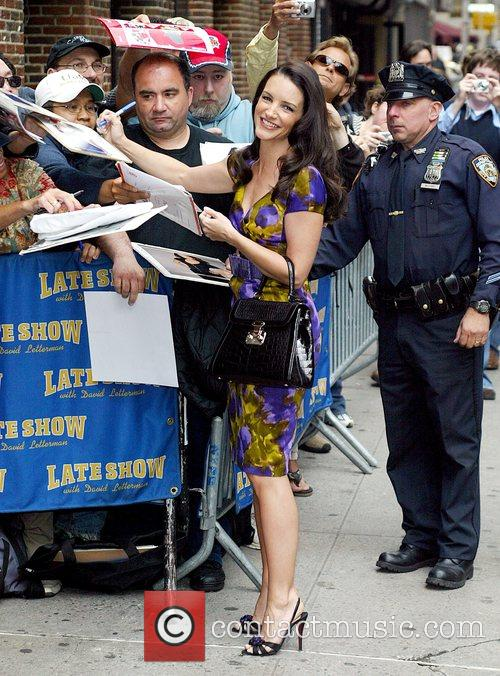 Kristin Davis and David Letterman 3