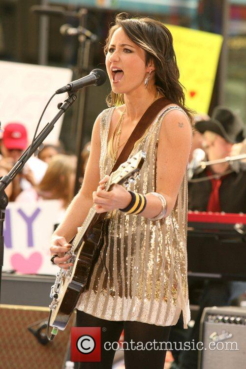 KT Tunstall performs Live on NBC's The Today...
