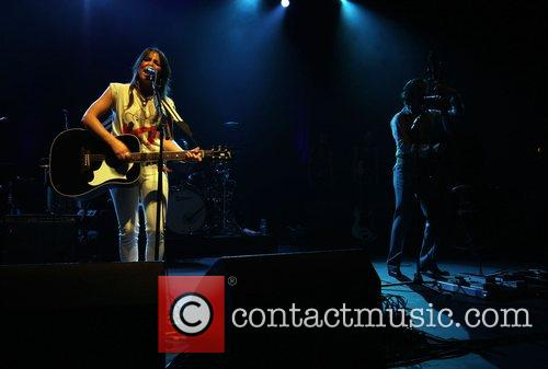 K.T. Tunstall performs at the Hammersmith Apollo London,...