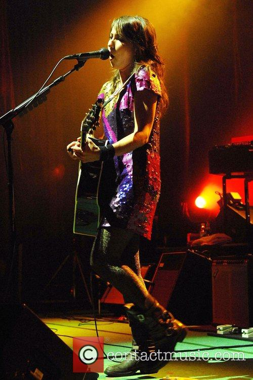 KT Tunstall performs live at the Roundhouse to...