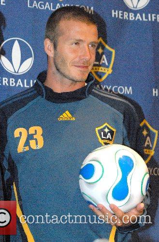 David Beckham Los Angeles Galaxy and New York...