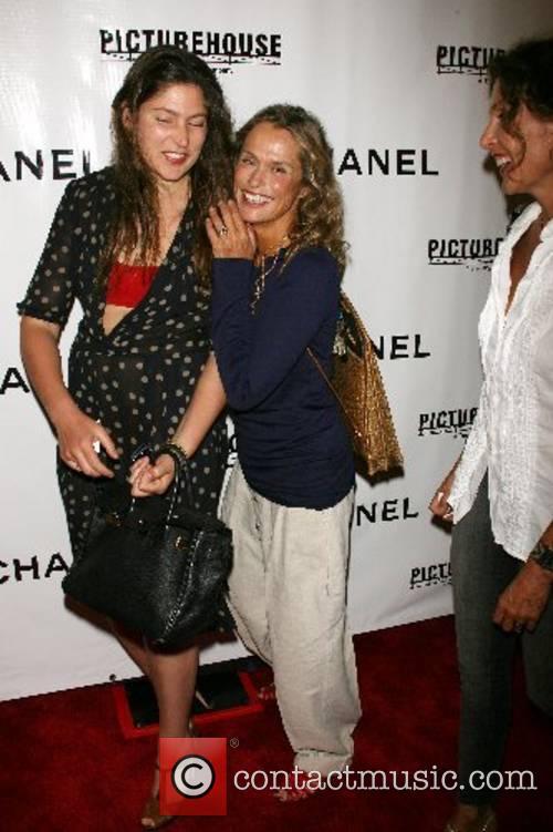 Stella Schnabel, Lauren Hutton, Jacqueline schnabel Premiere of...