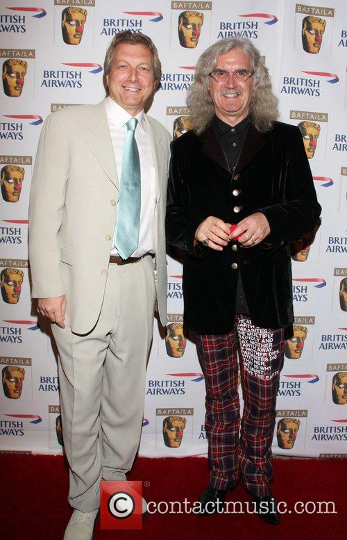Peter Morris and Billy Connolly BAFTA/LA's British Comedy...