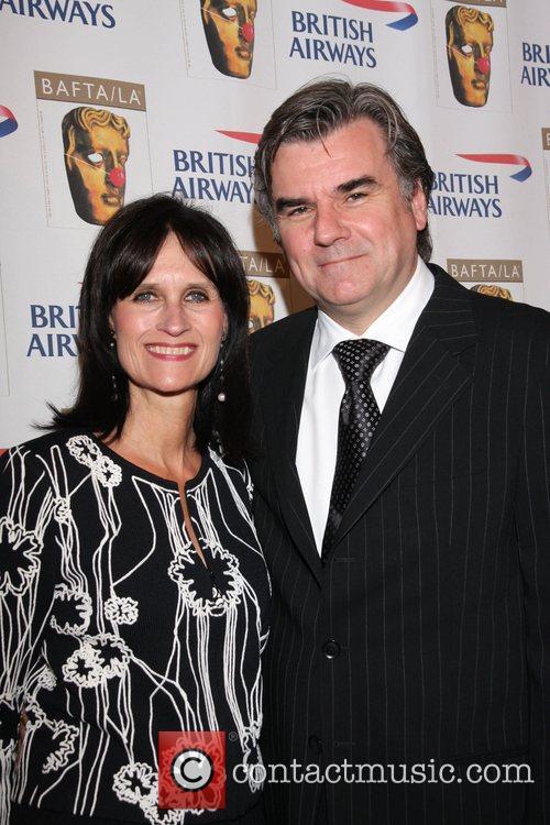 Sharon Harroun Peirce and Bob Peirce BAFTA/LA's British...