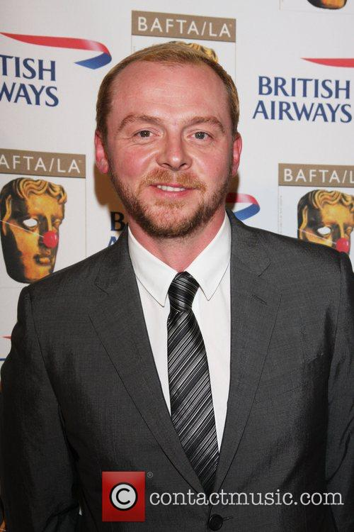 Simon Pegg BAFTA/LA's British Comedy Awards held at...