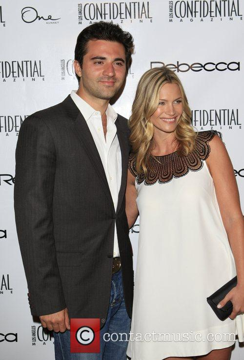 Darius Danesh and Natasha Henstridge Los Angeles Confidential...