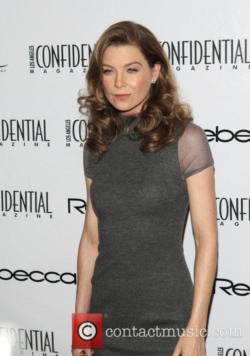 Ellen Pompeo Los Angeles Confidential Magazine's annual Emmy...