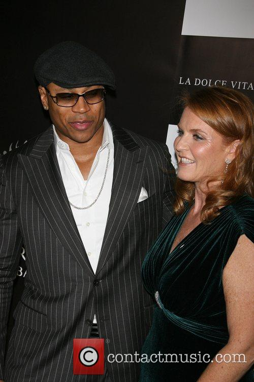 Ll Cool J and Sarah Ferguson 9