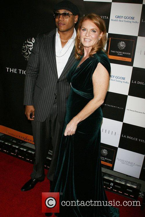 Ll Cool J and Sarah Ferguson 7