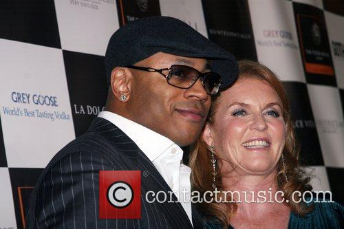 Ll Cool J and Sarah Ferguson 1
