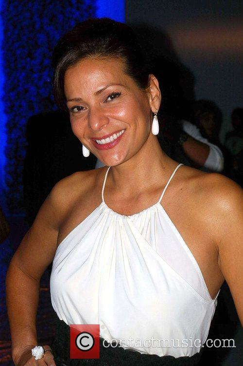 Constance Marie L.A. Fashion Week held at Smashbox...