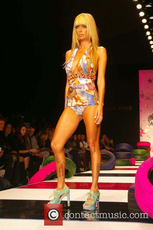 Jenna Jameson L.A. Fashion Week held at Smashbox...