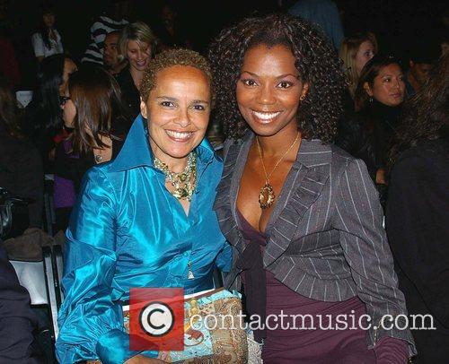 Shari Belafonte and Vanessa Williams L.A. Fashion Week...