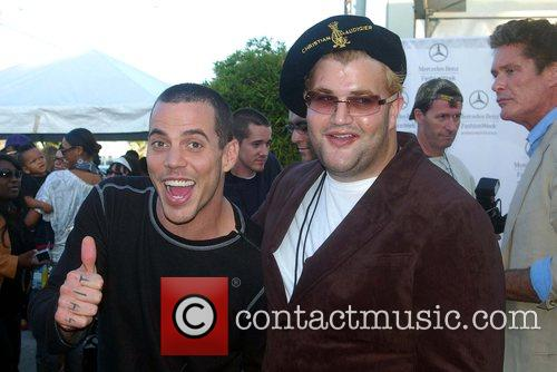 Steve-O and Jason Davis Mercedes-Benz Fashion Week 2008...