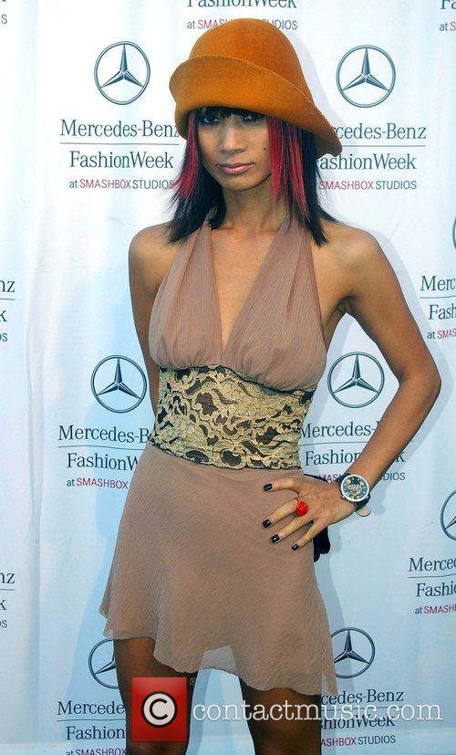 Mercedes-Benz Fashion Week 2008 at Smashbox Studios -...