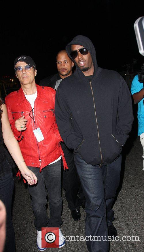 Jimmy Iovine and Sean 'P. Diddy' Combs Mercedes-Benz...