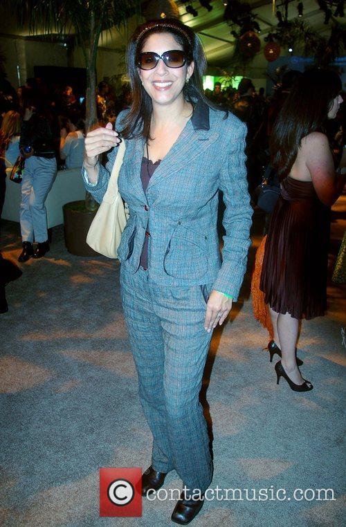 Susan Hirasuna Mercedes-Benz Fashion Week 2008 at Smashbox...