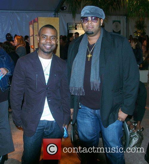 Delious Kennedy and Jamie Jones from All-4-One Mercedes-Benz...
