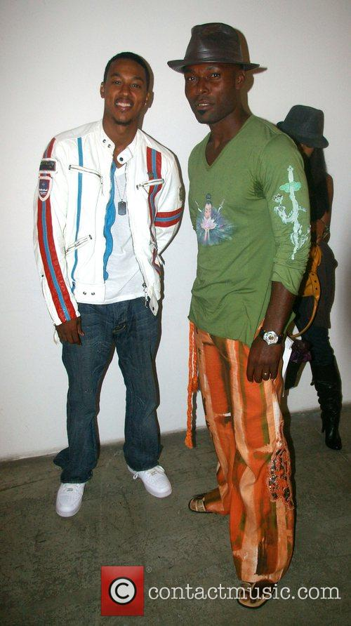 Wesley Jonathan and Jimmy Jean-Louis and Guest Mercedes-Benz...