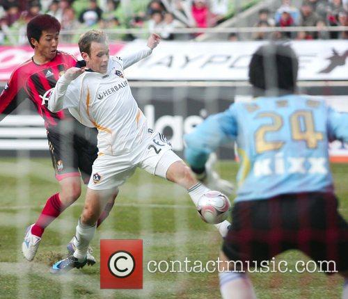 Ely Allen of LA Galaxy Motorola Cup Asia...